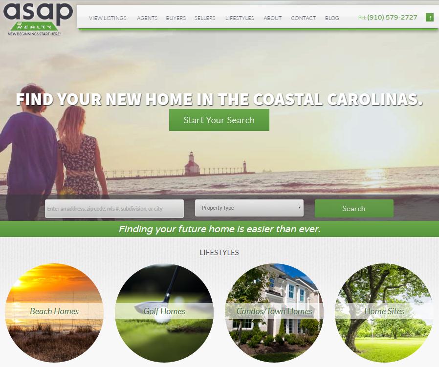 ASAP Realty Website