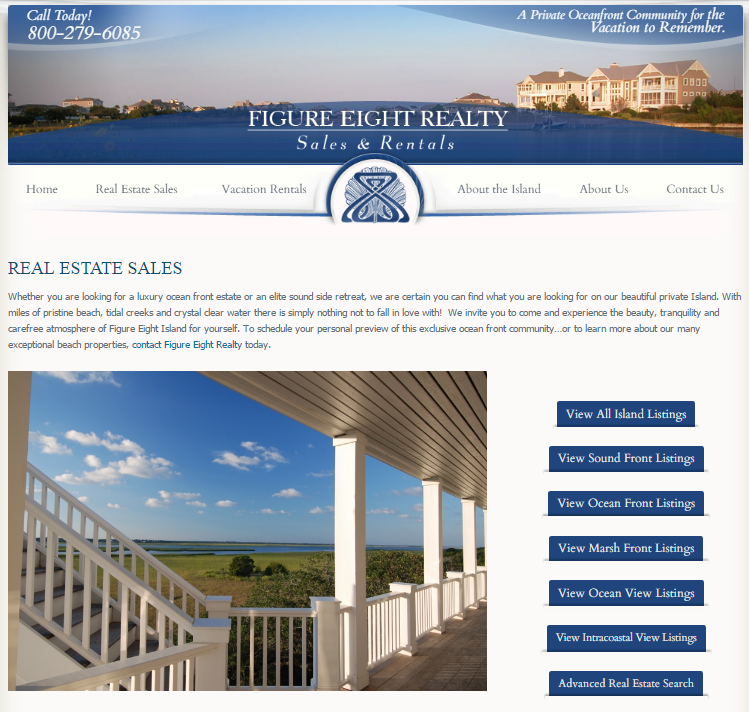 Figure 8 Realty Website