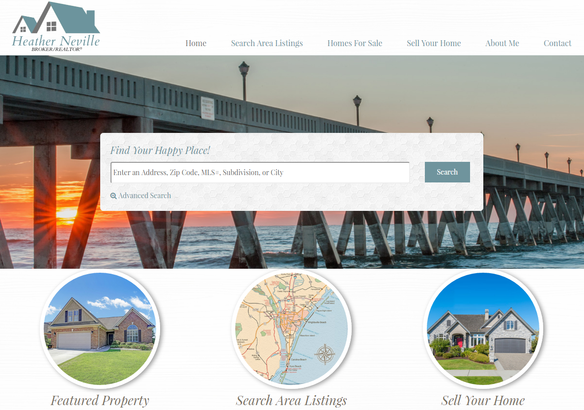 Great Real Estate Websites in the Wilmington, N.C. Area - SEO RETS